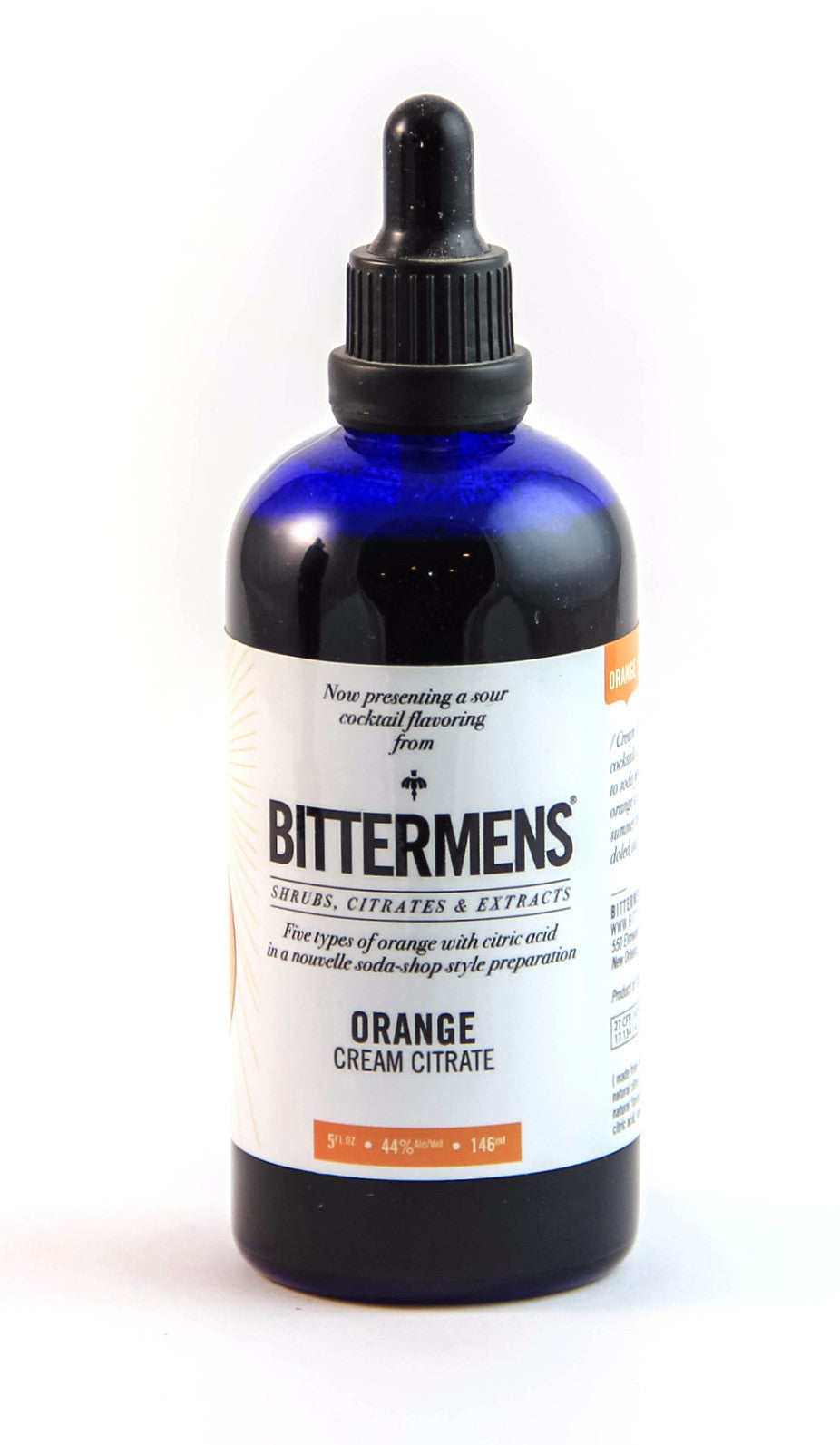 Bittermens Orange Cream Citrate-Bitters, Syrups and Shrubs-The Meadow