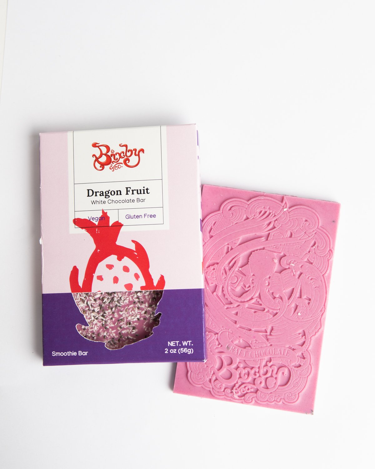 Bixby White Chocolate with Dragon Fruit