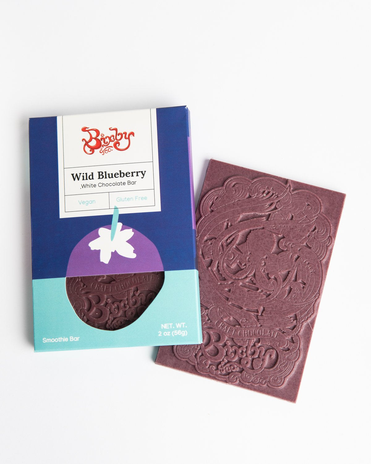 Bixby White Chocolate with Wild Blueberry