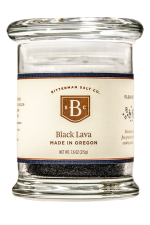 Black Lava Salt-Gourmet Salt-The Meadow