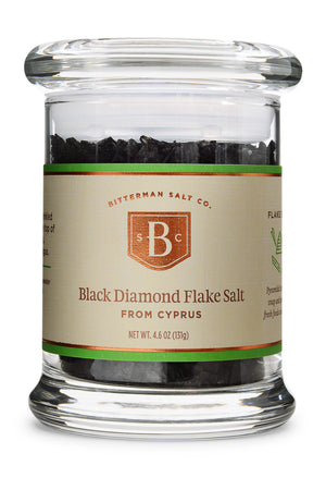 Black Diamond Flake Sea Salt-Gourmet Salt-The Meadow