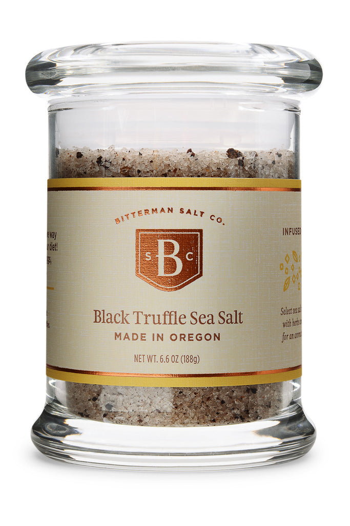 Black Truffle Italian Sea Salt