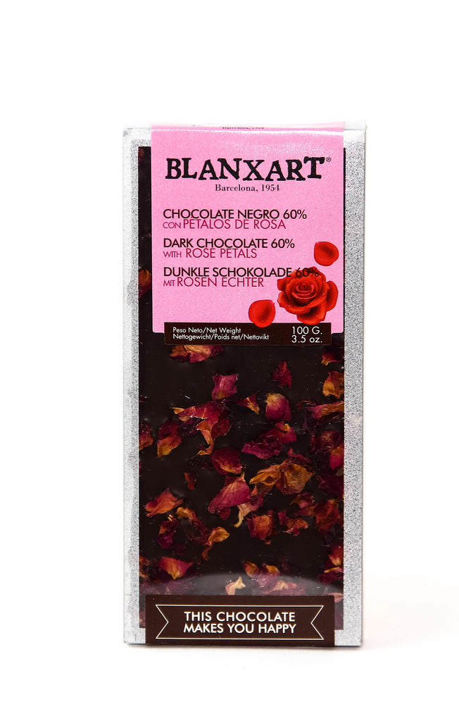Blanxart Dark Chocolate with Roses