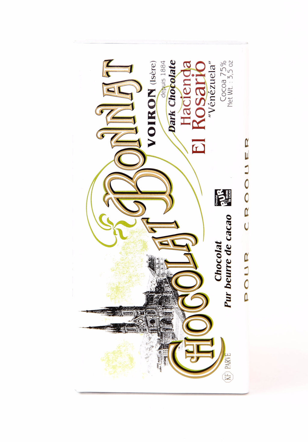 Bonnat El Rosario 75% Dark Chocolate-Chocolate-The Meadow