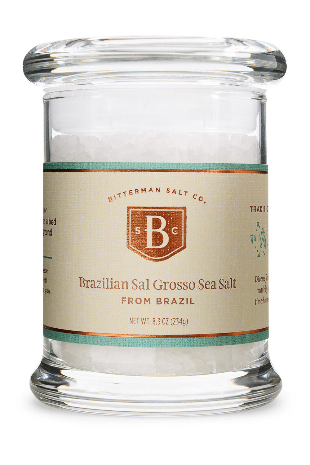 Brazilian Sal Grosso Coarse Sea Salt-Gourmet Salt-The Meadow