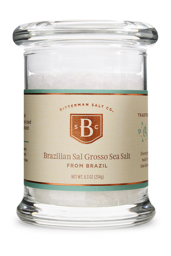 Brazilian Sal Grosso Coarse Sea Salt