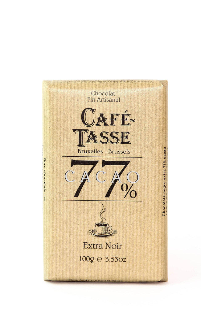 Cafe Tasse 77% Dark Chocolate
