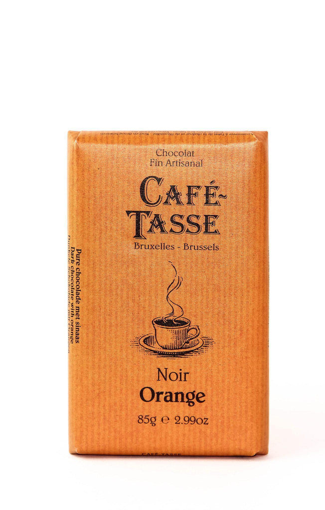 Cafe Tasse Dark Chocolate with Candied Orange