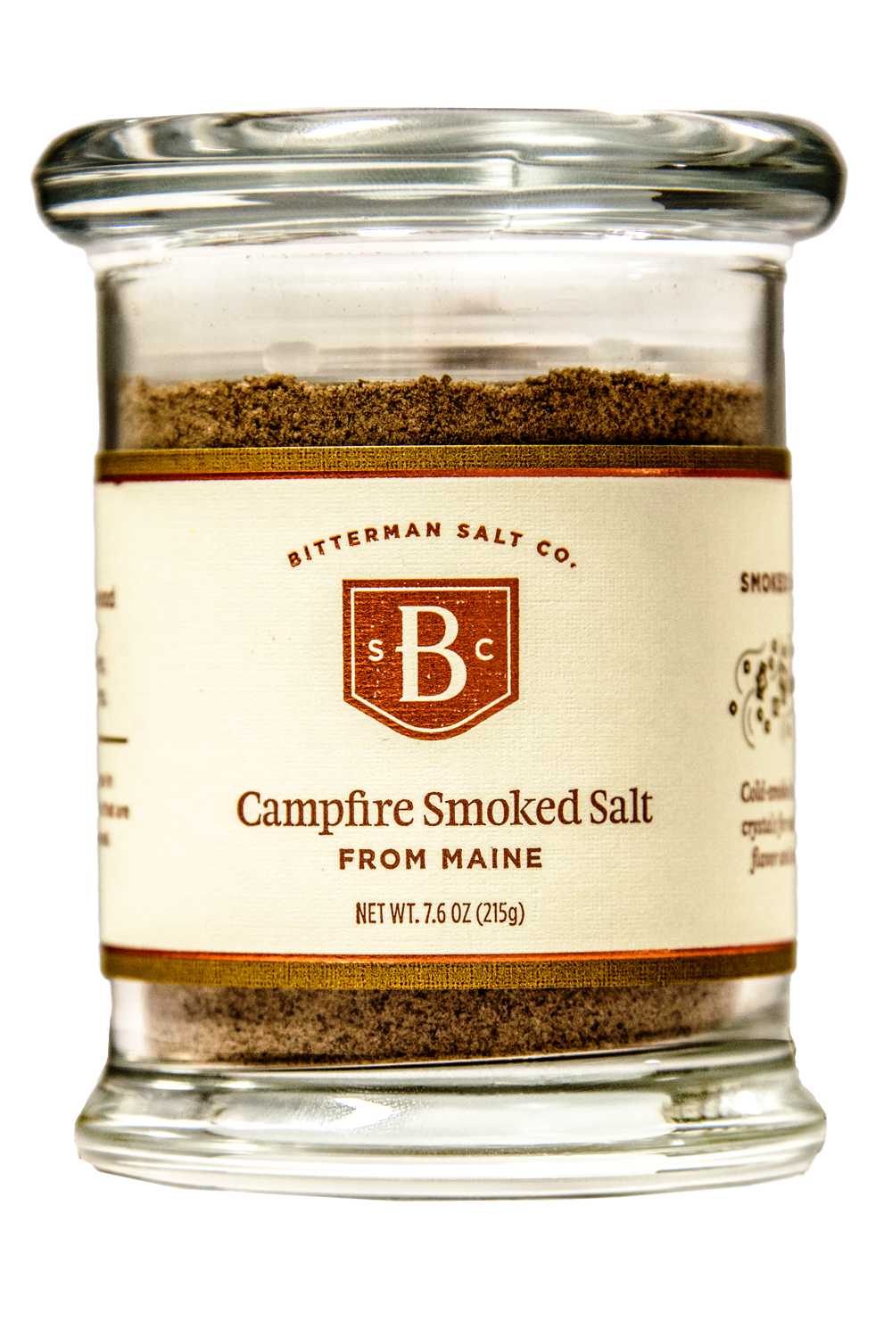 Campfire Smoked Salt-Gourmet Salt-The Meadow