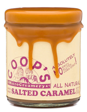 COOP'S Salted Caramel Sauce-Pantry-The Meadow