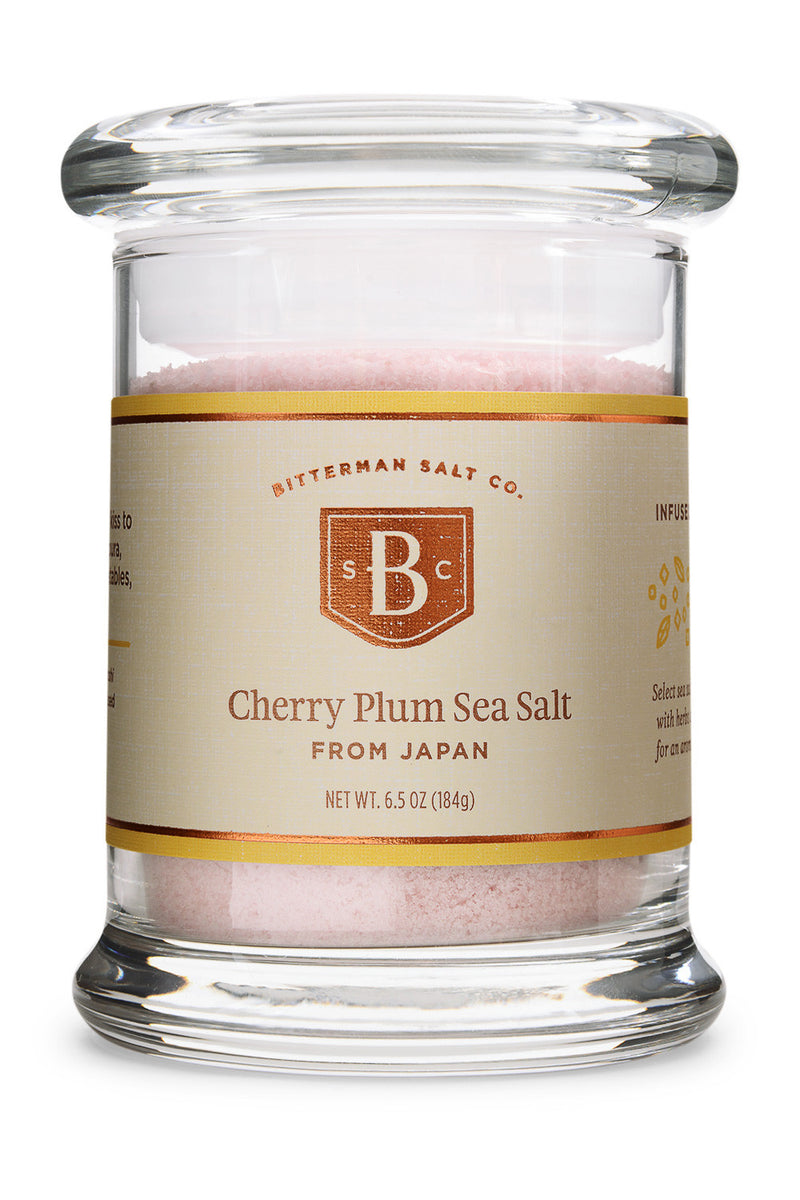 Cherry Plum Japanese Sea Salt-Gourmet Salt-The Meadow