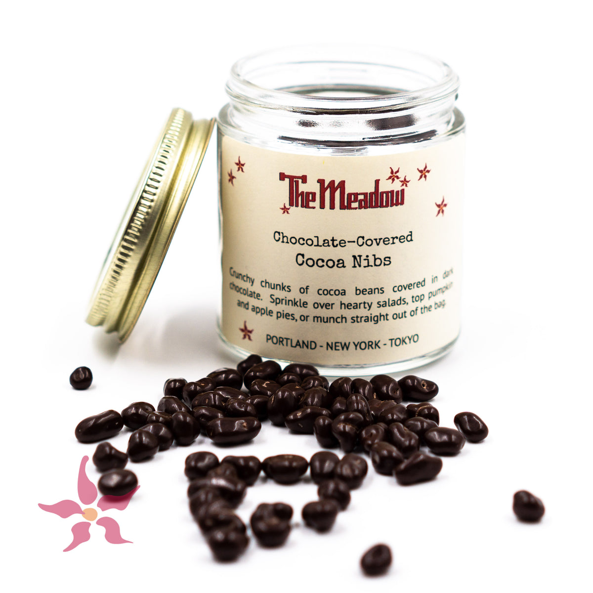 The Meadow Chocolate Covered Cocoa Nibs