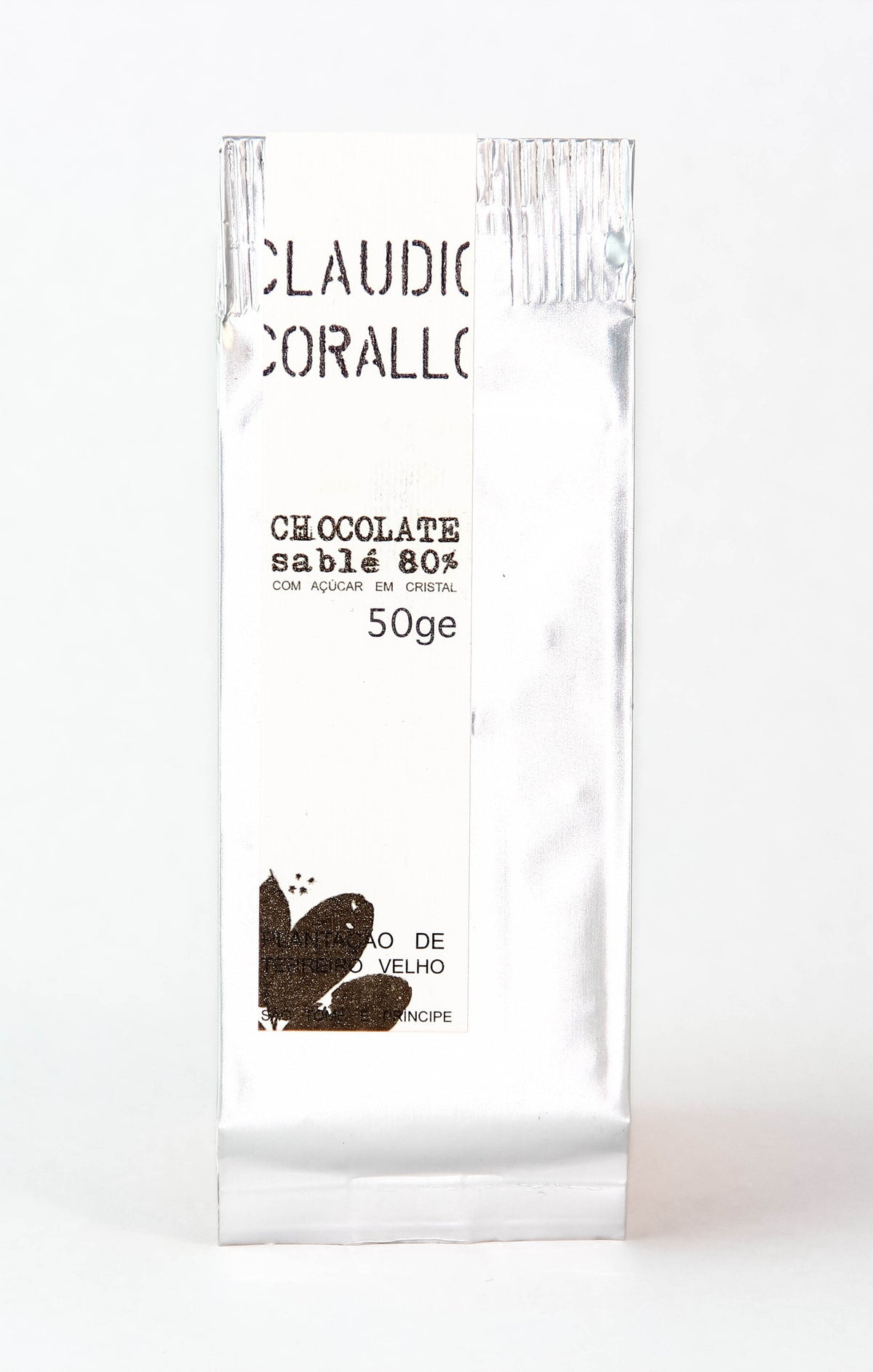 Claudio Corallo 80% Sable Dark Chocolate-Chocolate-The Meadow