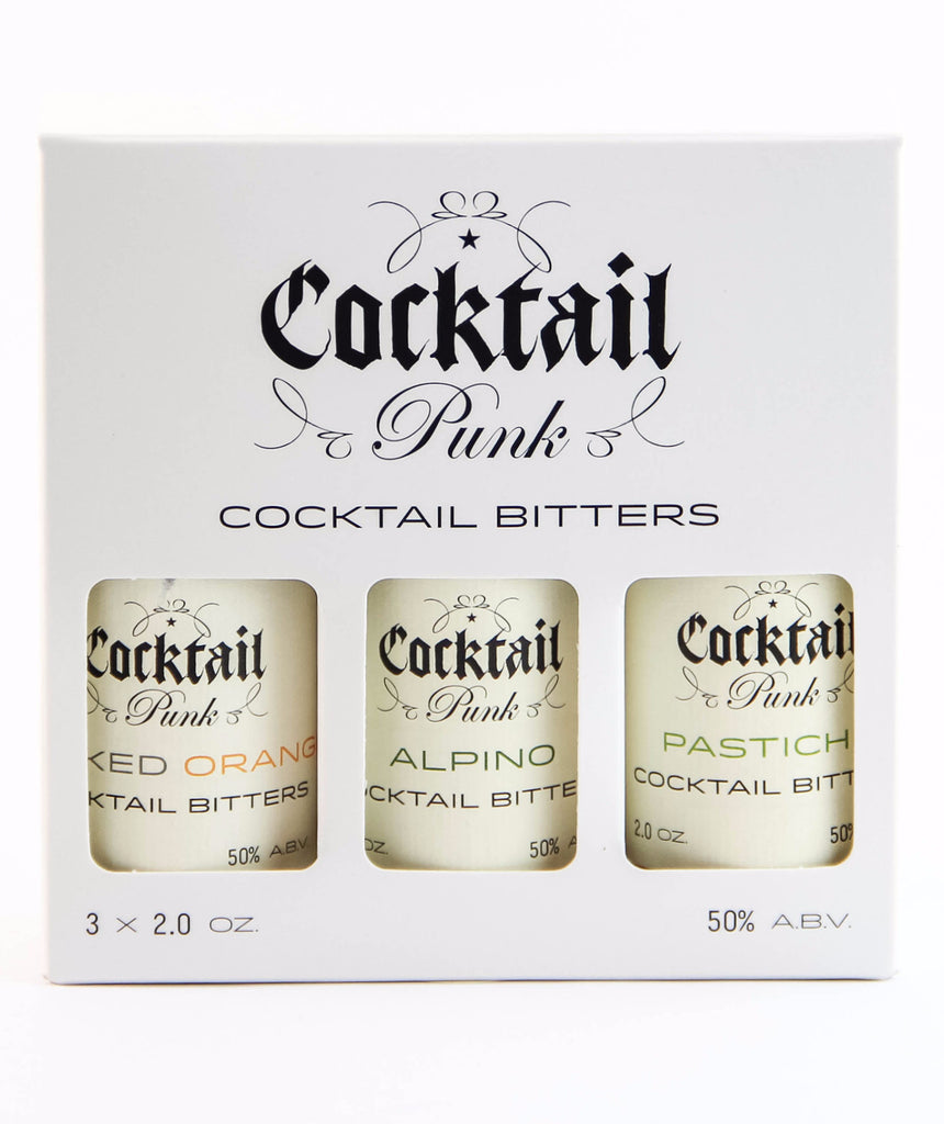 Cocktailpunk Enthusiast Bitters Set