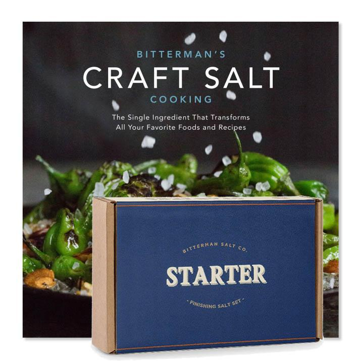 Salt Starter Set + Craft Salt Cooking-Books-The Meadow