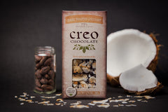 Creo 73% Dark Chocolate with Toasted Coconut