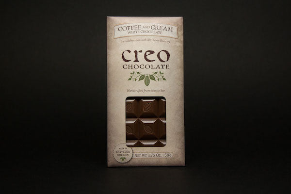 Creo Coffee and Cream White Chocolate