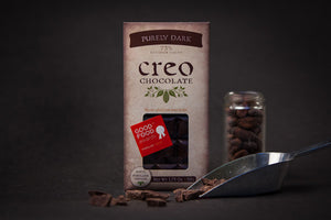 Creo Purely Dark 73% Dark Chocolate-Chocolate-The Meadow