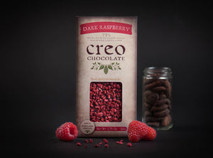 Creo 73% Dark Chocolate with Raspberries-Chocolate-The Meadow