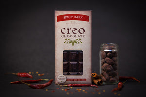 Creo 73% Spicy Dark Chocolate-Chocolate-The Meadow