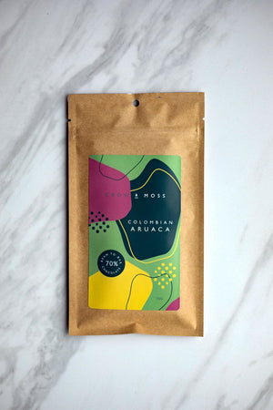 Crow & Moss 70% Colombia Aruaca Dark Chocolate