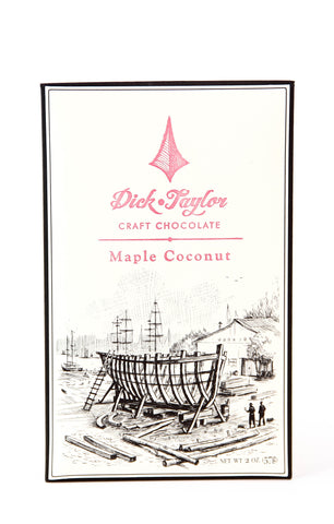 Dick Taylor Dark Chocolate with Maple Coconut