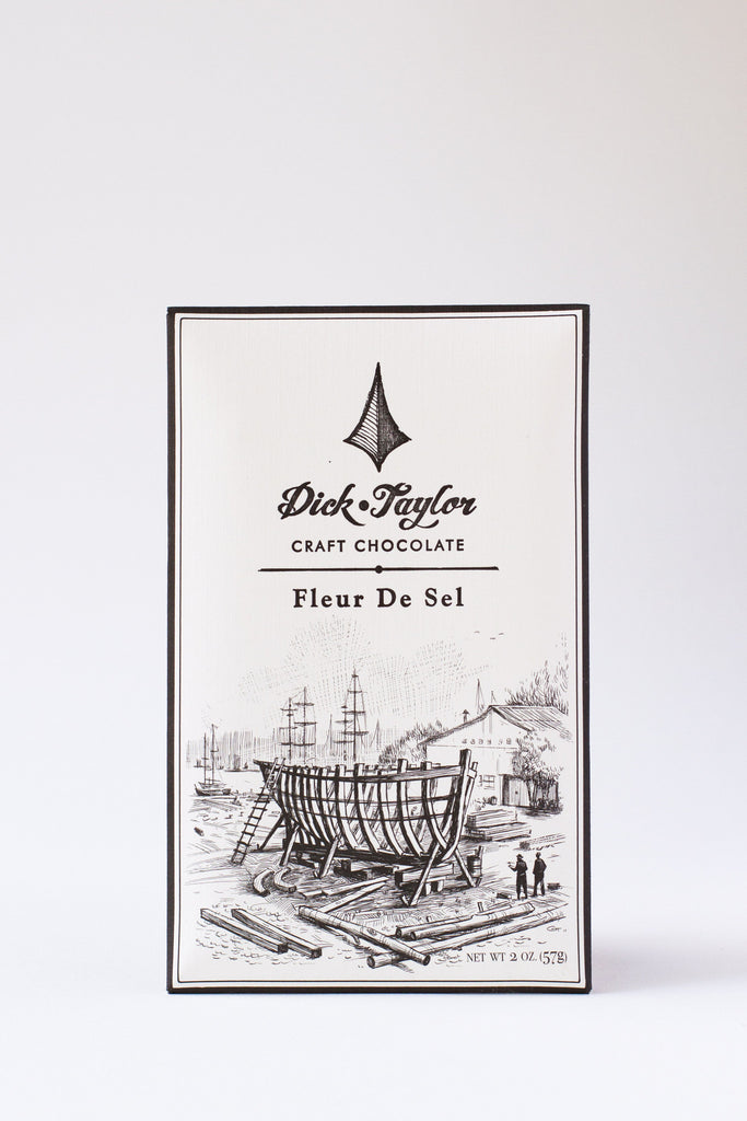 Dick Taylor Dark Chocolate with Fleur de Sel
