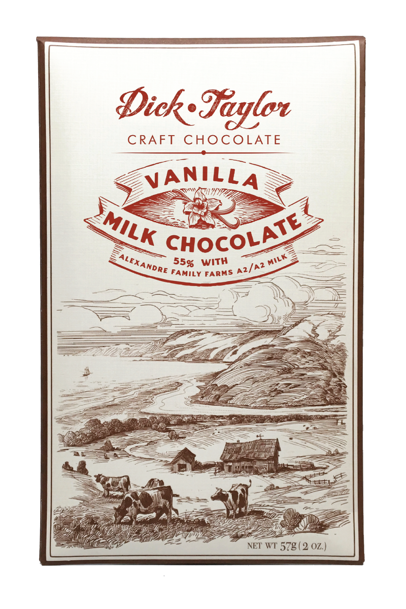 Dick Taylor Milk Chocolate with Vanilla