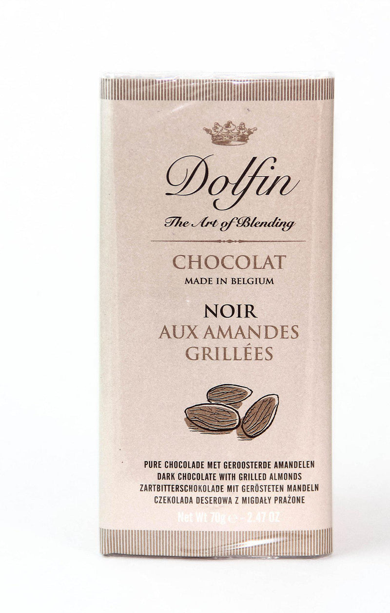 Dolfin 52% Dark Chocolate with Roasted Almonds-Chocolate-The Meadow