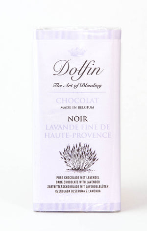 Dolfin 52% Dark Chocolate with Lavender-Chocolate-The Meadow