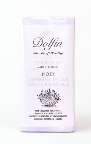 Dolfin 52% Dark Chocolate & Lavender