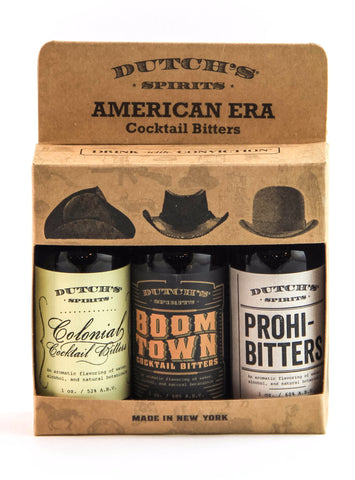Dutch's Spirits American Era Variety Bitters Three-Pack