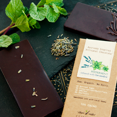 Elements Truffles Peppermint Lavender Dark Chocolate