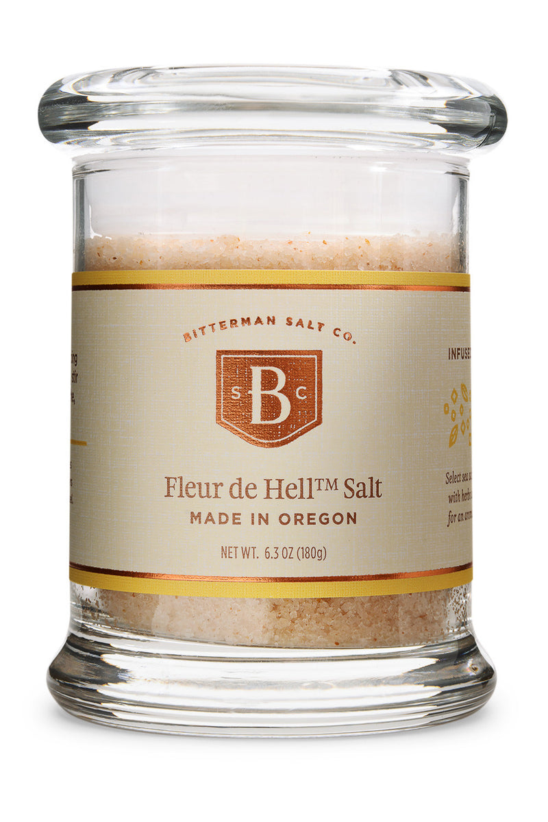 Bitterman's Fleur de Hell™-Gourmet Salt-The Meadow