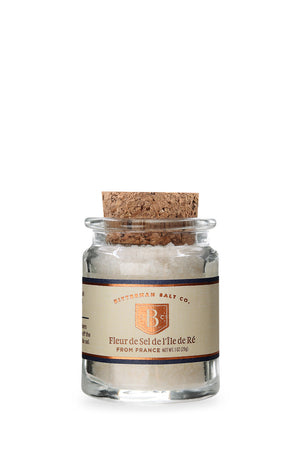 Fleur de Sel de l'Île de Ré - French Sea Salt-Gourmet Salt-The Meadow