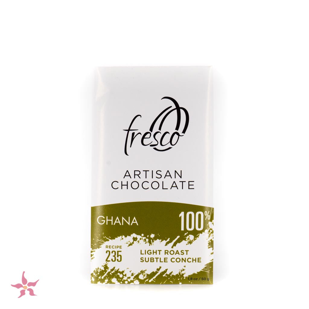 Fresco Chocolate Ghana 100% Light Roast Chocolate