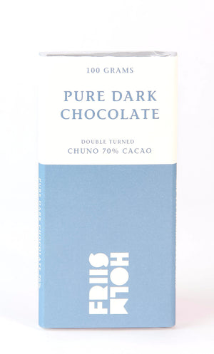 Friis-Holm Chuno 70% Double-Turned Dark Chocolate-Chocolate-The Meadow
