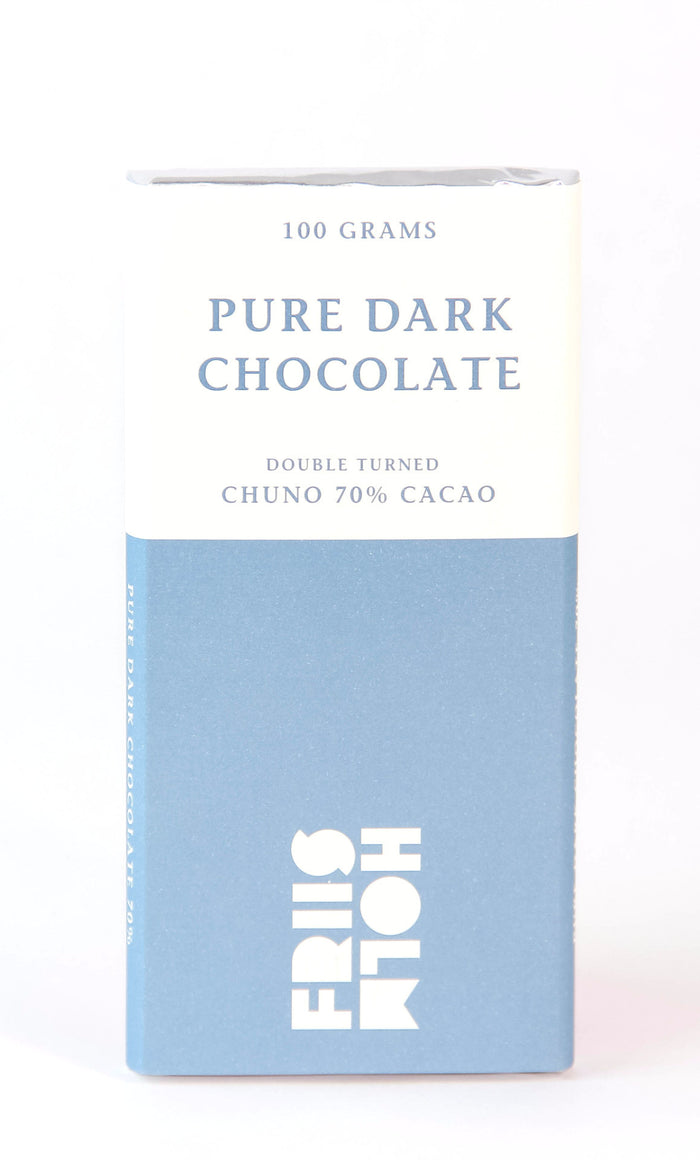 Friis-Holm Chuno 70% Double-Turned Dark Chocolate