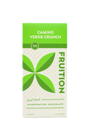 Fruition Camino Verde Crunch Dark Chocolate-Chocolate-The Meadow