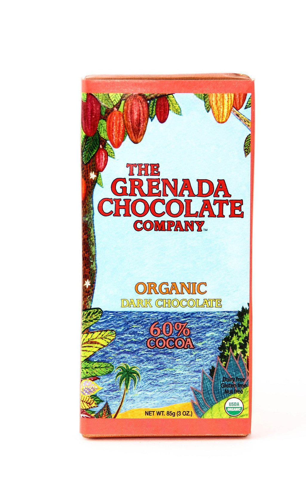 Grenada 60% Dark Chocolate-Chocolate-The Meadow