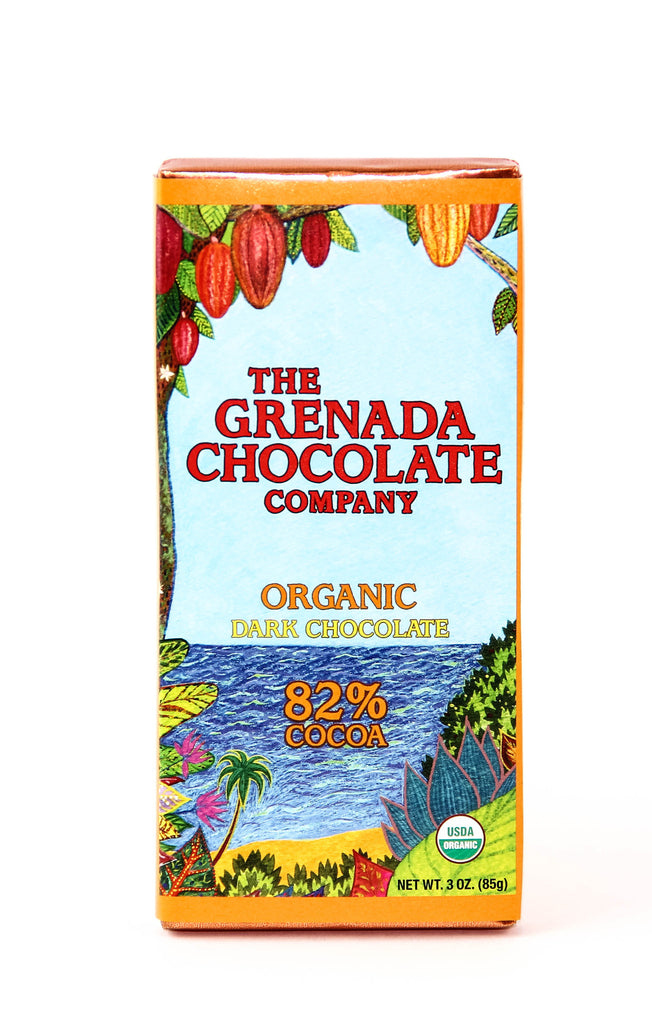 Grenada 82% Dark Chocolate