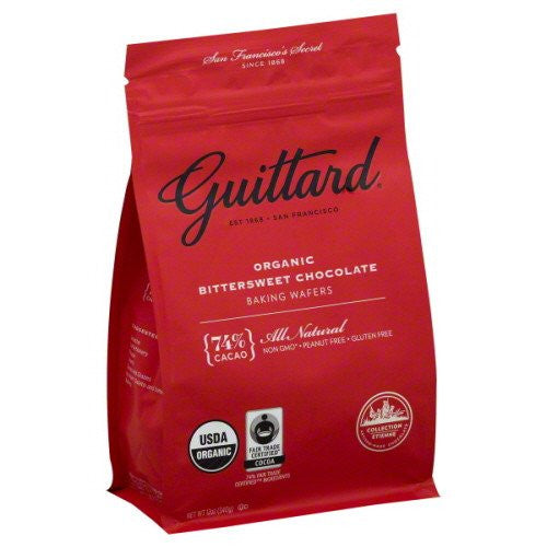 Guittard Bittersweet Wafers 74%