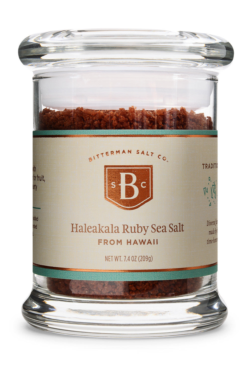 Haleakala Ruby Coarse Hawaiian Sea Salt-Gourmet Salt-The Meadow