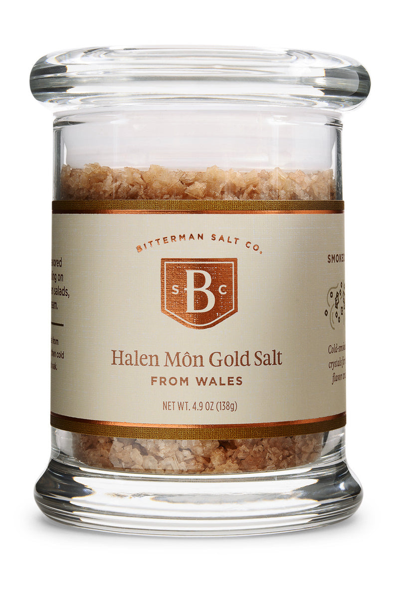 Halen Môn Gold Smoked Sea Salt-Gourmet Salt-The Meadow