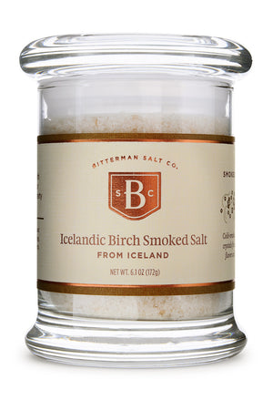 Icelandic Birch Smoked Sea Salt-Gourmet Salt-The Meadow