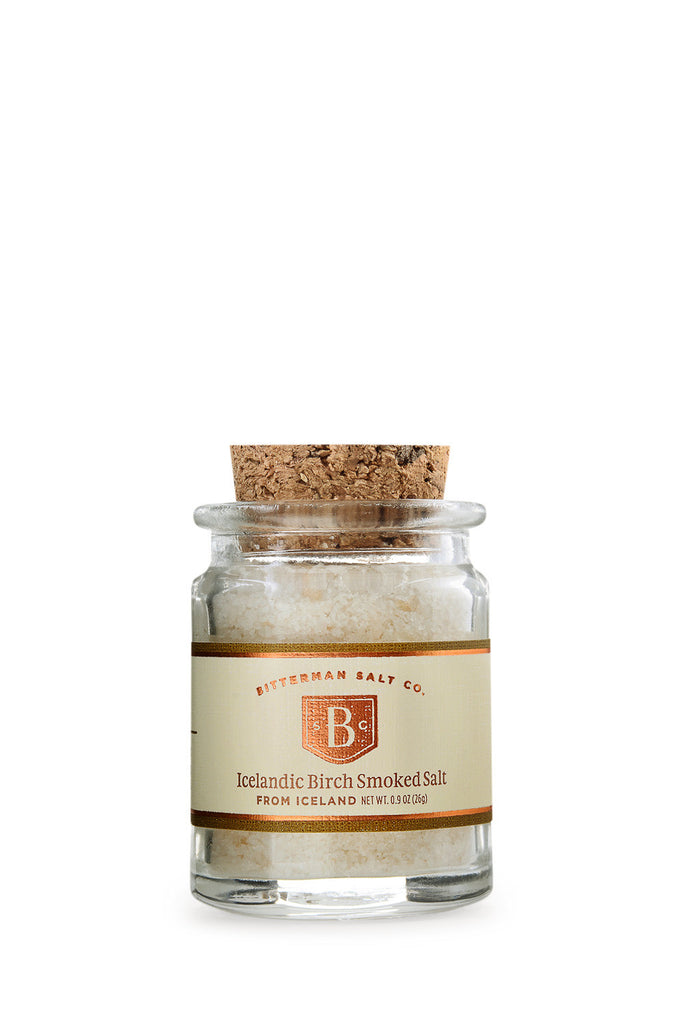 Icelandic Birch Smoked Sea Salt