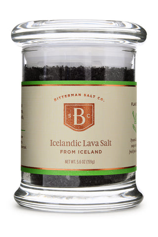 Icelandic Lava Flake Sea Salt