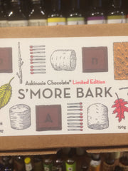 Askinosie Dark Chocolate S'mores Bark