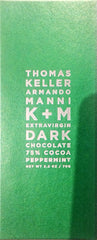Keller + Manni Extravirgin 75% Dark Chocolate with Peppermint
