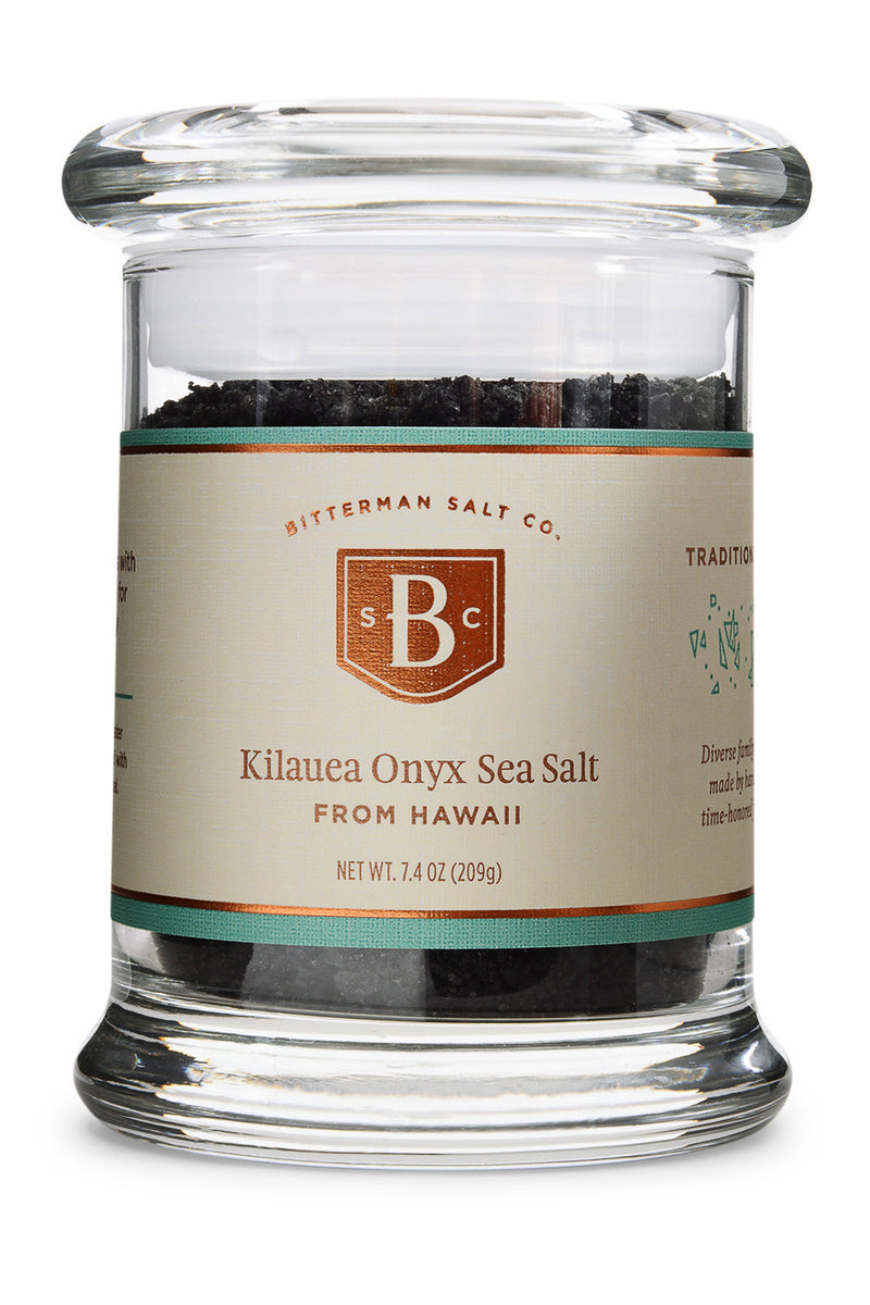 Kilauea Onyx - Black Hawaiian Sea Salt-Gourmet Salt-The Meadow